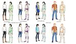 Music beat: character outfit looks by art-is-my-bream