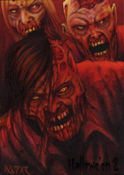 Hallowe'en 2 Sketch Card - Frank A. Kadar 3 by Pernastudios