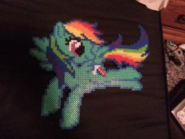 Rainbow Dash Bead Sprite by coolnerd11