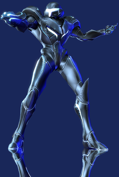 Dark Samus by Yare-Yare-Dong
