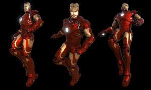 Tony Stark - Iron Man - Sheet by AlxFX