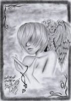 young angel by BrokenViolet