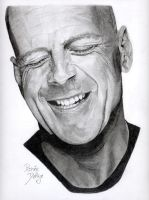 Bruce Willis by Fayeren