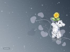 Jewelry Bear 1024 Wallpaper by jessichka