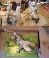 Jean Gray as Phoenix in progress by figuralia