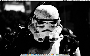 My MacBook Air desktop by TigerCat-hu