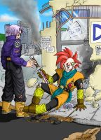 Trunks and Tapion by Risachantag