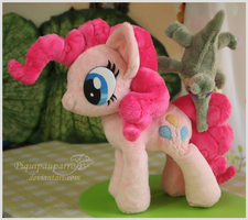 Pinkie n Gummy - Hand made plushies by Piquipauparro