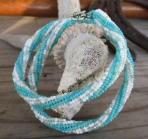 Dreaming of Trinidad Beaded Choker by TarpanBeadworks