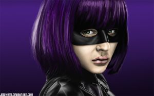 Hit-Girl Kick-Ass 2 Study by JoelWhite