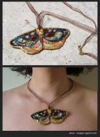 Jewels-Butterfly necklace by pittyarte