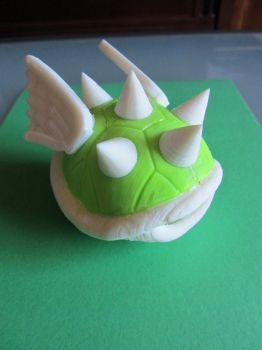 Spike turtle 3D print by AlfonMC
