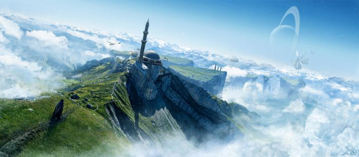 Journey to Shatter Island by ErikShoemaker