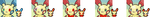 PMD complamation- PLUSLES AND A MINUN by scarthedragon