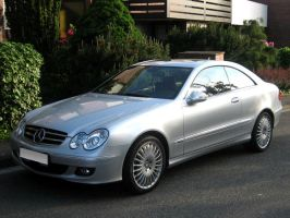 Mercedes-Benz CLK 430 Coupe by toyonda