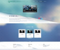 DC Audio Website [Sketch] by iNsSeR