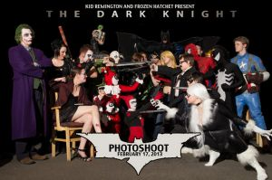 The Dark Knight Photoshoot by kidremington