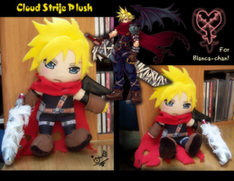 Plush - KH Cloud Strife by akayashi