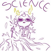 Fear not for i have the power of SCIENCE by CountingRainDrops