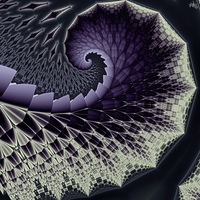 feathered spiral by skulkey