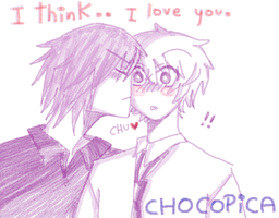I think, I love you. by CHOCOPICA