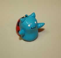 Catbug Bravest Warriors Charm by ScribblesLover