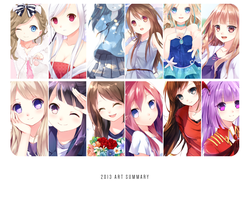 2013 Art Summary by eleanorquinn