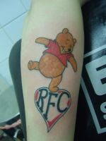 Winney The Pooh by GetSomeInk