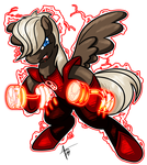 MLP: Blackest Night - Dumbbell by Cynos-Zilla