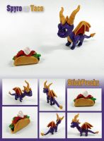 Spyro VS Taco by StickFreeks
