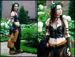 Faun costume by sombrefeline