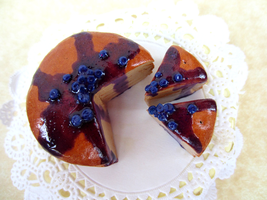 Blueberry Crepe Cake 2 by Shacchan
