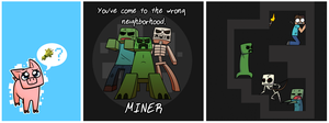 Minecraft threadless designs by Chradi