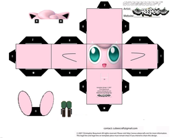Jigglypuff Cubee Template by Respeto6