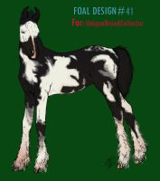 Foal Design ID#41- FOR SALE by SweetStreamStables
