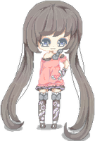 Pixel doll - my OC by lmsubscribing