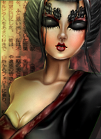 Geisha by Kuliii