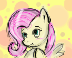 Speed Paint- Fluttershy by k-the-dragonknight