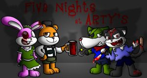 Five Nights at Arty's by QuirkyArtie