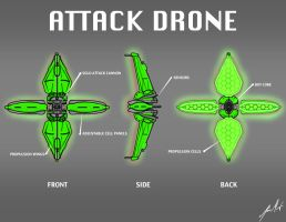 Attack Drone by KevinMassey
