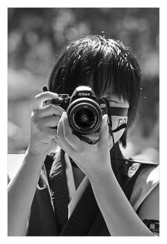 Hisagi the Photographer by faidoi