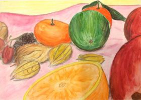 Fruit Still Life by GreenDragon42