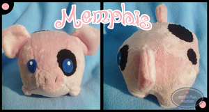 Little Litters -Memphis - Plush by Sparkle-And-Sunshine