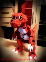 Guilmon Papercraft by LABBRueRyuzaki
