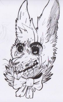 Funtime springtrap [ Not official/sketch ] by Hiyoko-little-chick