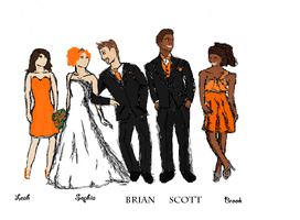 Squirrelflight's Wedding Party by zyker325