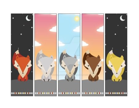 Fox Bookmarks by MonicaJohnson0647
