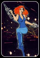 Space Babe III by philippeL