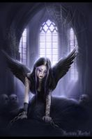 ...Gothic Angel... by MorbidiaMorthel