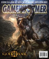 God of War III- GameInformer by andyparkart